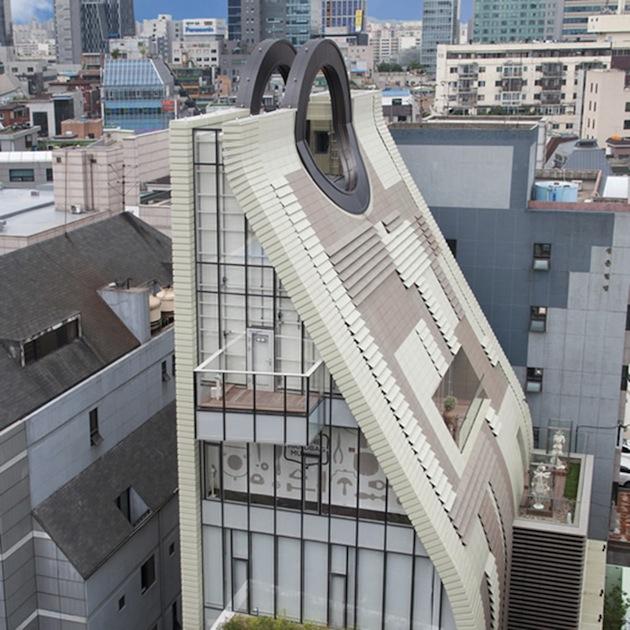 PURSE SHAPED HANDBAG MUSEUM @ SEOUL, KOREA