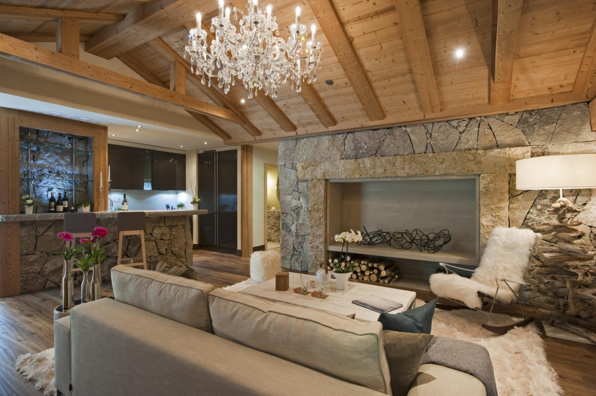 Resort Property In Leukerbad, Switzerland by Marc Michael Interior Design