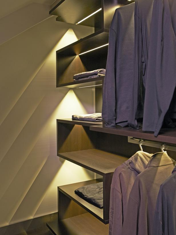 Closet light up ideas