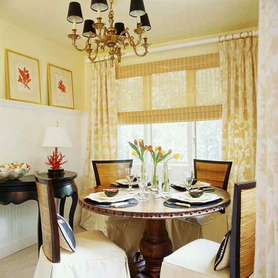 One Dining Room Three Different Ways: Examples Of Dining Rooms In Small-spaces