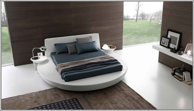 8 Impressive Round Beds. It's time for Relaxing Retreat!
