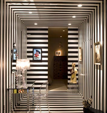 Surprising Ideas Of Black And White Hallways And Entries As A Good Examples Inspirational Interior Design Netriciaus