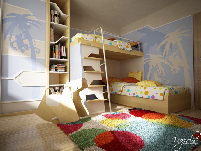 60 Original Children S Bedroom Design Showcasing Vibrant