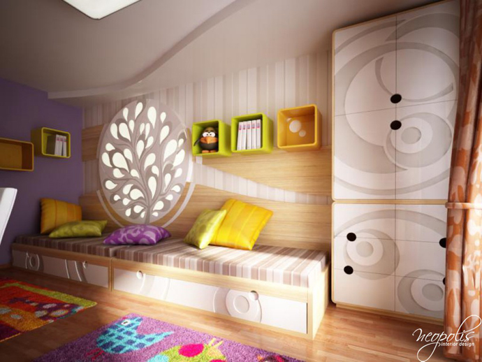 60 original children s bedroom design showcasing vibrant for Childrens bedroom ideas