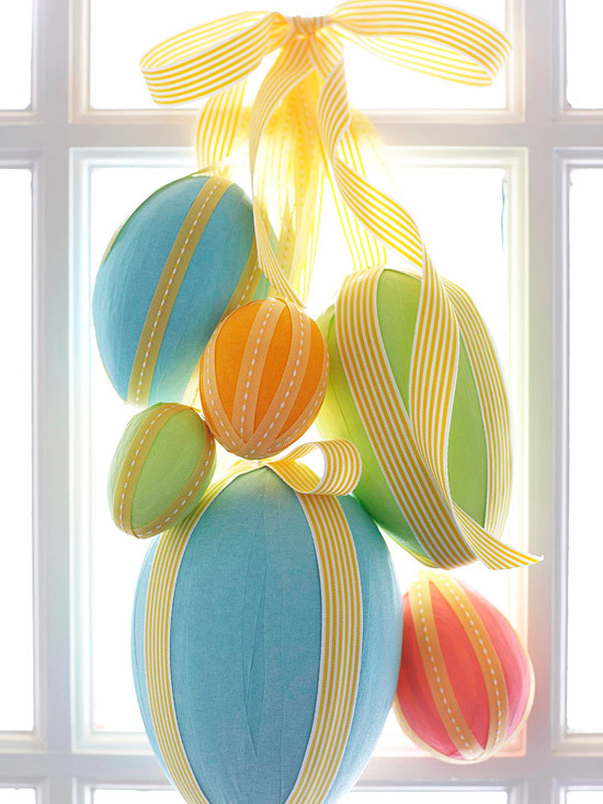 13 diy easter and spring door decorations - How to make easter decorations ...