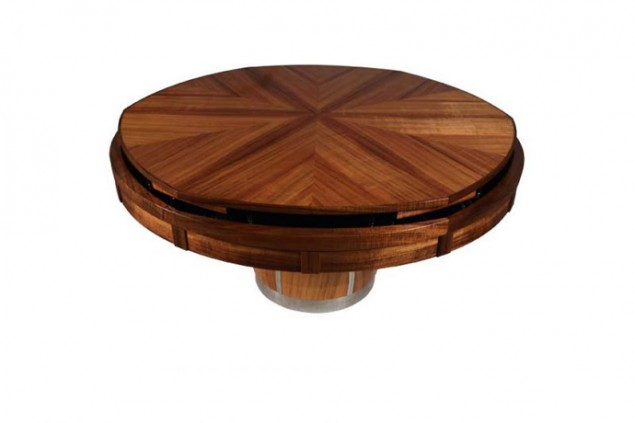 $50,000 for Fletcher Capstan Table  Automatically Expands from a Small Size to a Larger One