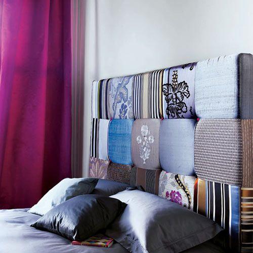 Fabric Headboard Bedroom