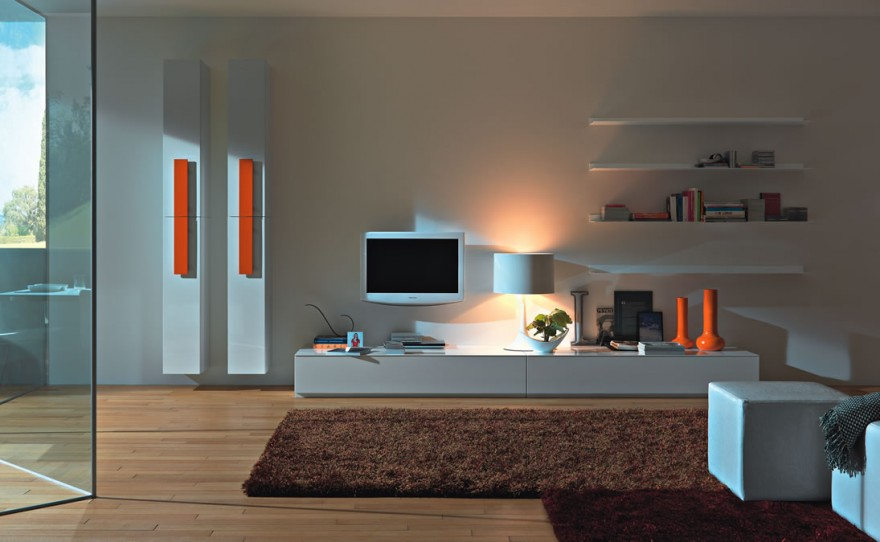 Contemporary Living Room Interior Designs. Superb Tv Stands Tv Cabinets ...