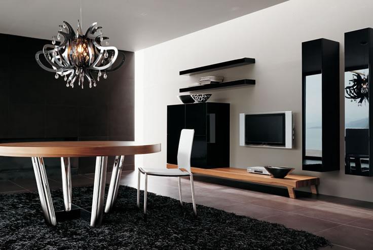 40 contemporary living room interior designs - Modern showcase designs for living room ...