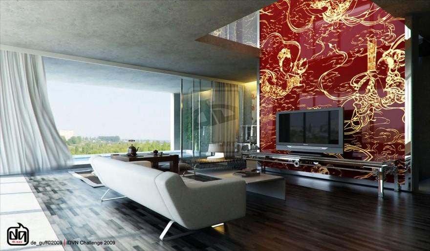40 contemporary living room interior designs Contemporary wall art for living room