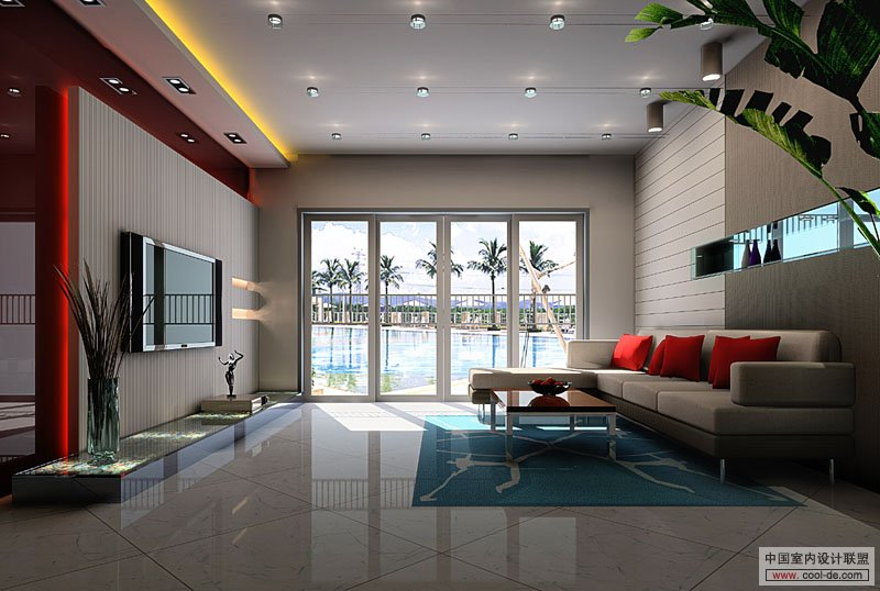 Tags contemporary interior design living room tv wall units