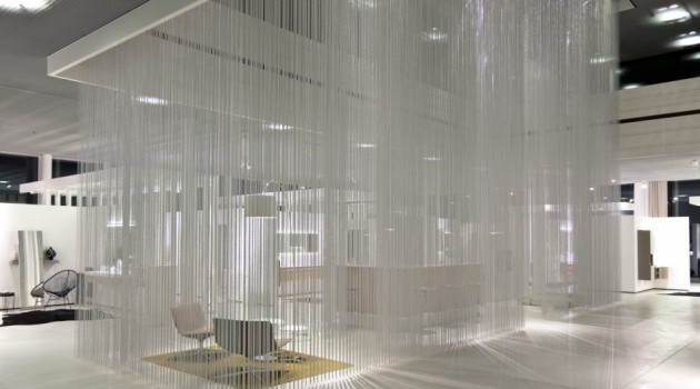 Rain-like curtains by KriskaDECOR