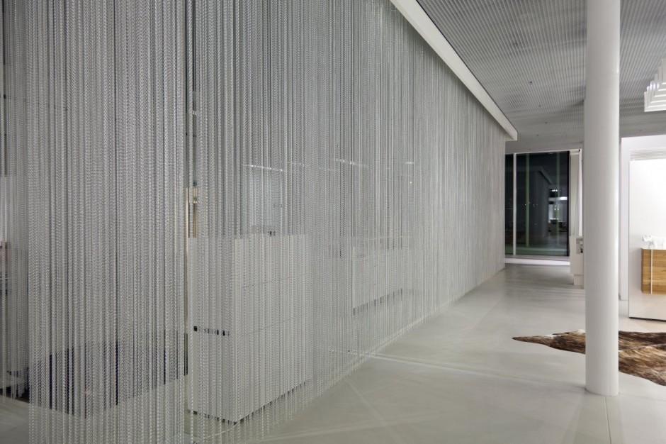 Rain-like curtains by KriskaDECOR