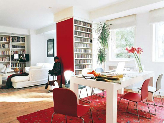 30 Sexy Red Interiors Inspirations That Make Your Room Come Alive
