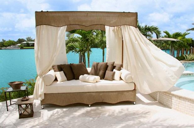 Romantic Outdoor Canopy Beds Best Home Design Ideas