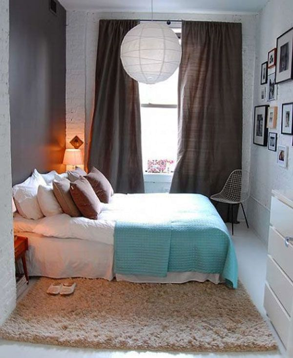 design ideas to make your small bedroom look bigger, Bedroom decor