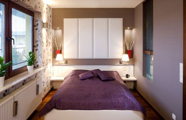 40 design ideas to make your small bedroom look bigger - Bedroom Arrangements Ideas