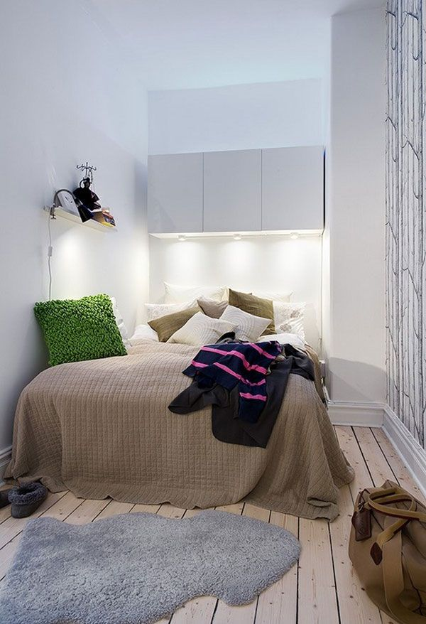 40 design ideas to make your small bedroom look bigger - Small room decor ideas ...