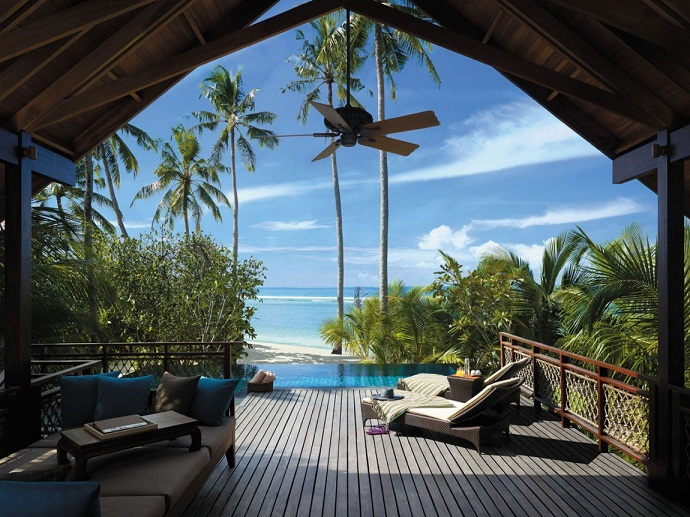 5 Star Shangri La's Villingili Resort and Spa
