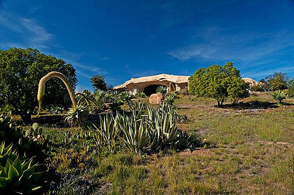 Dick Clark's Flintstones Inspired Home in Malibu
