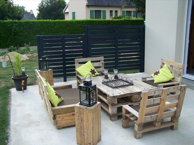 28 Amazing Uses For Old Pallets - ArchitectureArtDesigns.