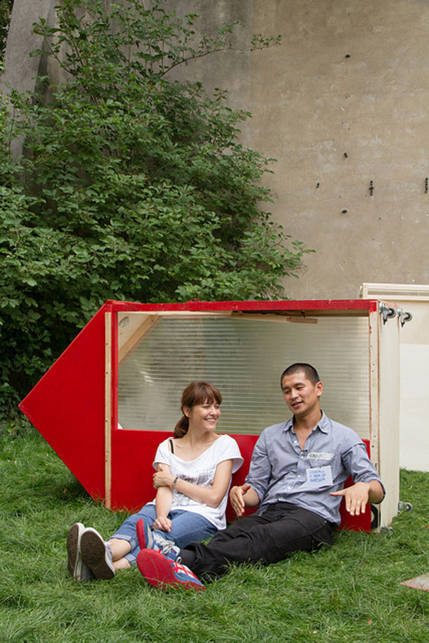 World's Smallest House Takes Only 1 Square Meter