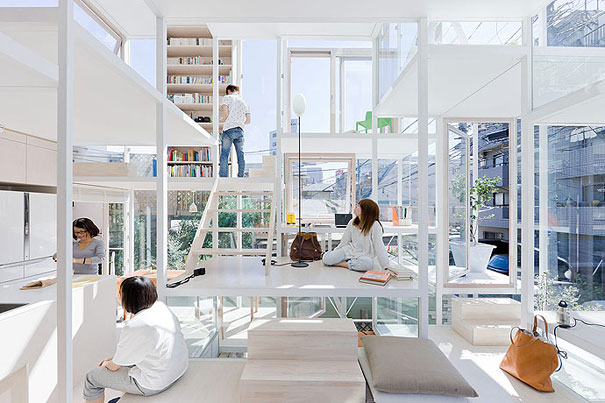 Transparent House in Japan