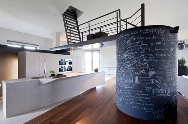 Old Water Tower Transformed into a Modern Living Space