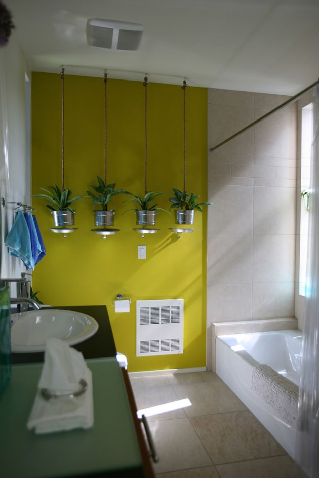 48 Bathroom Interior Ideas With Flowers And Plants - Ideal For Summer.