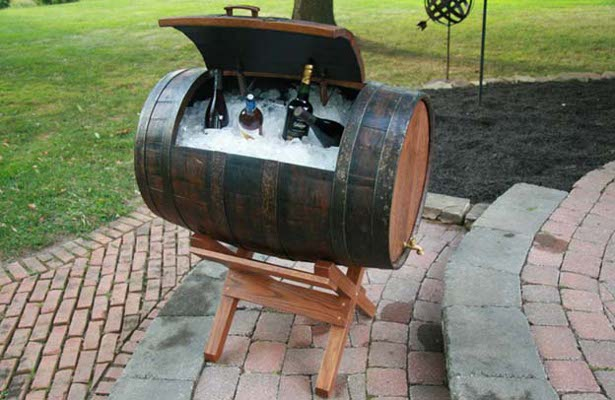 17 Diy Useful And Smart Ideas How To Repurpose Wine Barrels