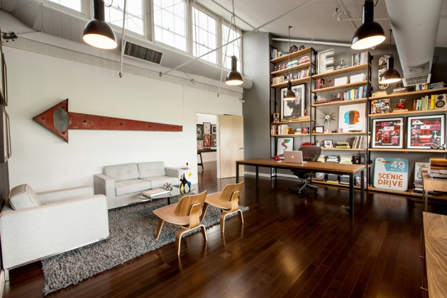 Old Warehouse Used And Repurposed into a Dream Office