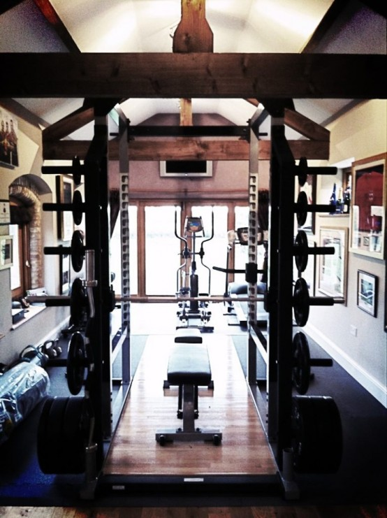 its time for workout 58 awesome ideas for your home gym - Design Your Home Interior
