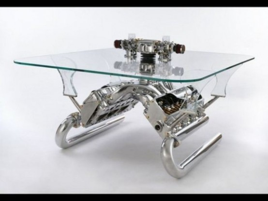Unique Coffe Tables Awesome Coffee Tables And Sofas Made Of Car Parts Decorating Inspiration