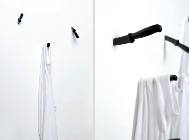 21 Extraordinary And Creative Wall Hook Designs
