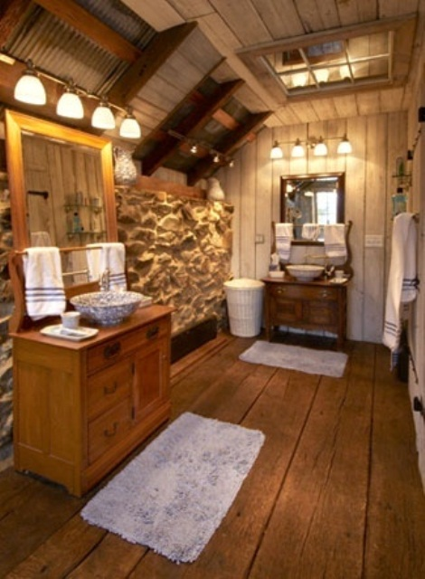 46 bathroom interior designs made in rustic barns Bath barn