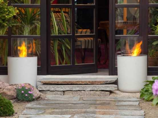 Amazing Modern Fireplaces For Your Outdoor Designs