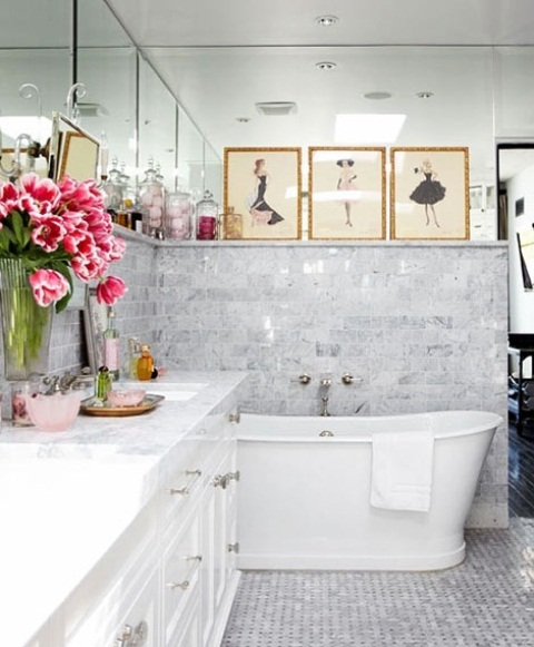32 Marvelous Feminine Bathrooms. Girls, You're Gonna Love It?