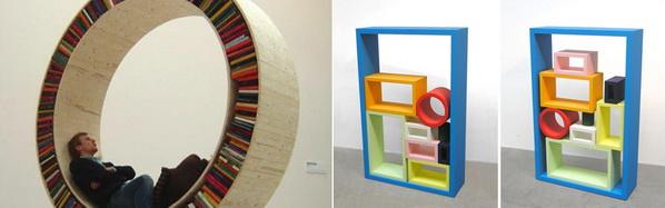 Ultra Modern Home Library Design Ideas