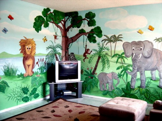 25 Impressive Kids Room Designs Inspired By Jungle