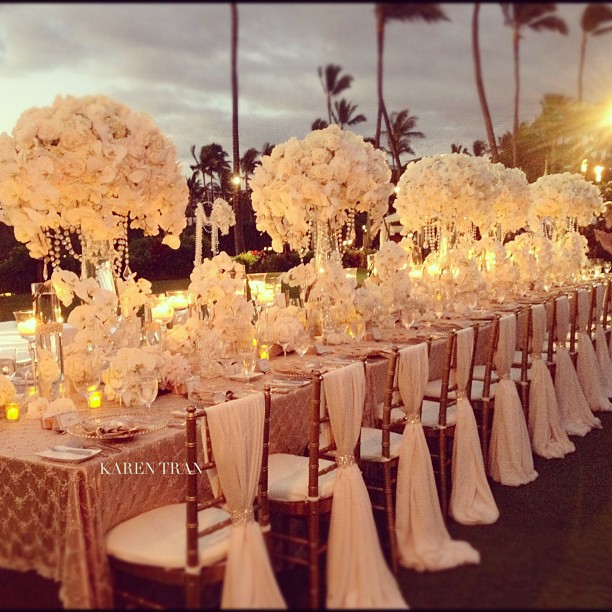 27 luxury arrangements for your wedding table decoration Best table decoration ideas