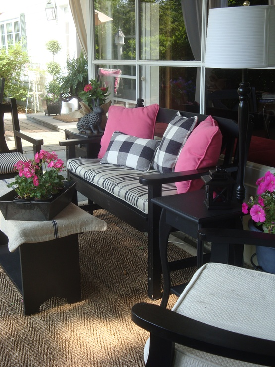 47 Cutie Patio Ideas For A Patel Colors Design on Black And White Patio Ideas id=49338