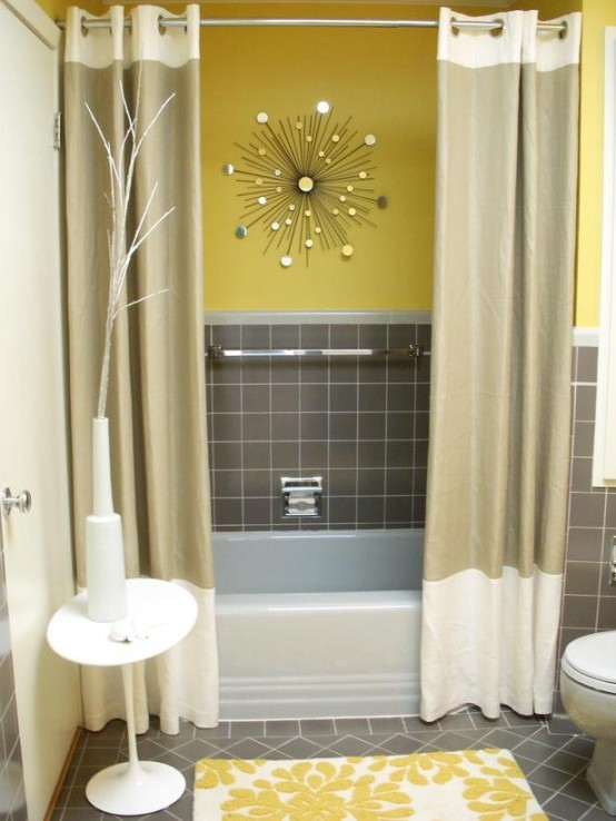 Bathroom Decor Ideas Yellow bright and sunny yellow ideas for perfect bathroom decoration