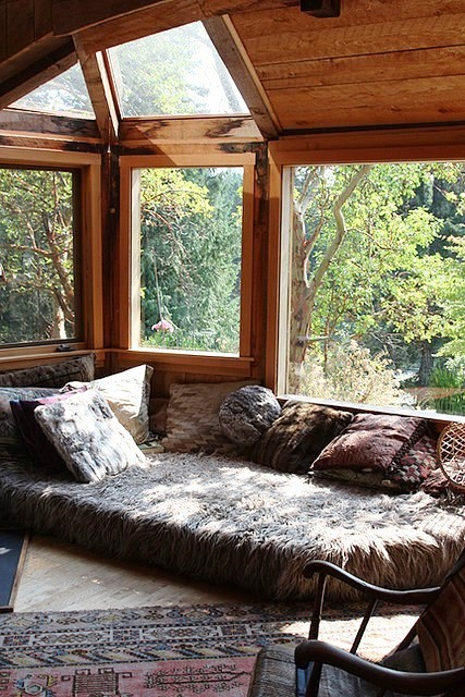 53 stunning ideas of bright sunroom designs ideas for Log cabin sunrooms
