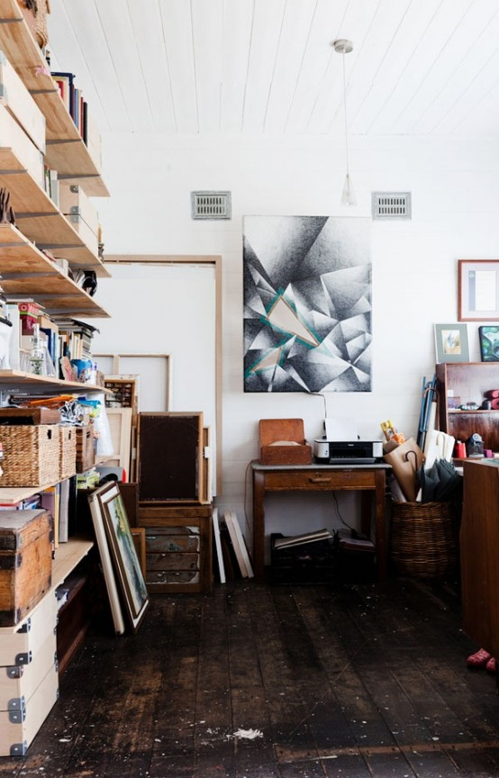 40 Artistic Home Studio Designs Here To Inspire You