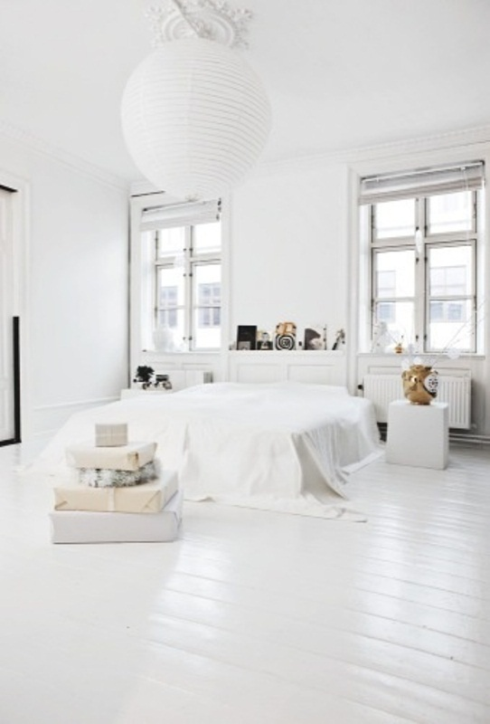 "45 ""All In White"" Interior Design Ideas For Bedrooms on Minimalist:btlhhlwsf8I= Bedroom Design  id=35178"