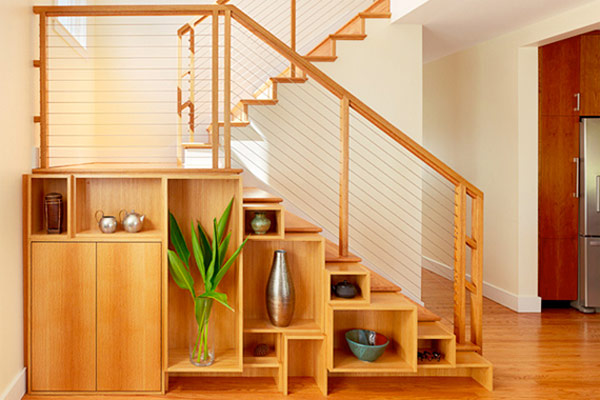 30 Very Creative And Useful Ideas For Under The Stairs Storage