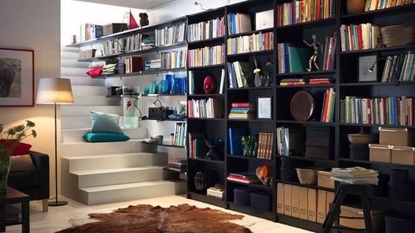 Strange Modern Home Library Design Ideas Largest Home Design Picture Inspirations Pitcheantrous