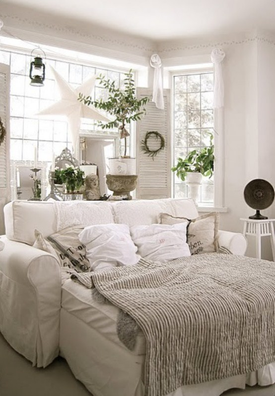 45 All In White Interior Design Ideas For Bedrooms