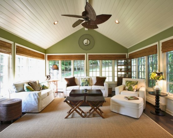 53 Stunning Ideas Of Bright Sunrooms Designs. | Daily source for ...