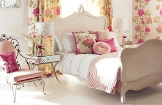 43 Spring Inspired Fresh And Colorful Bedroom Designs